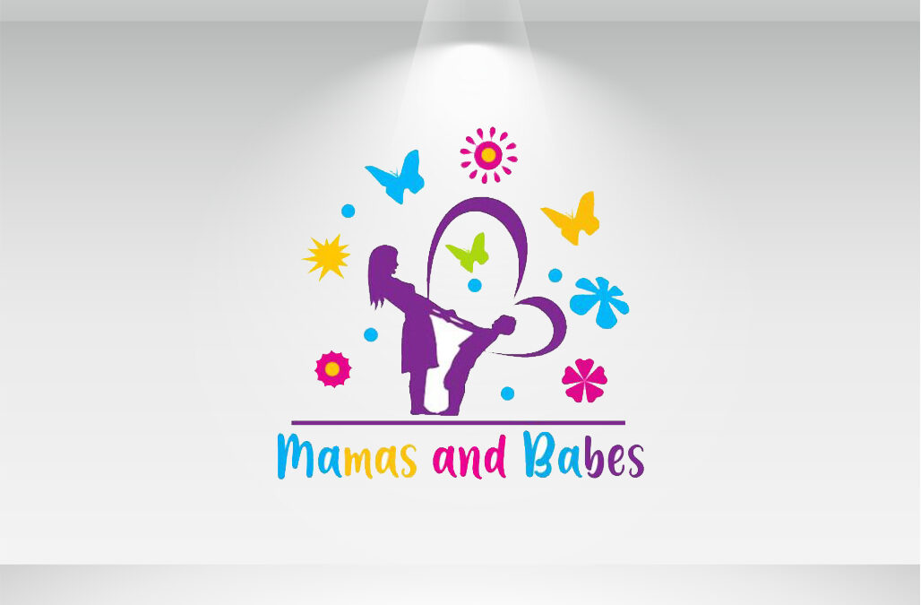 شعار mamas and babes